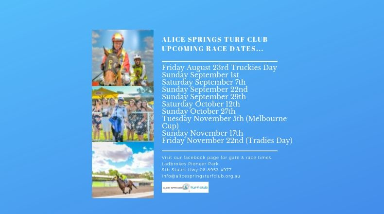 Upcoming Race Days.
